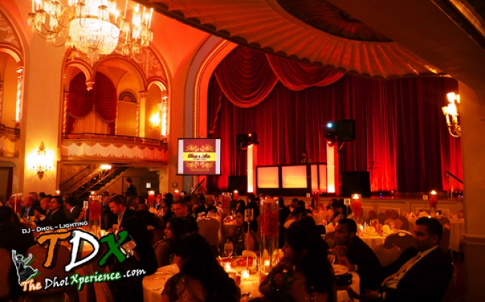 7-TDX-DJ-Booth-with-Moving-Head-Lights-on-Truss-Towers-Projector-Screen
